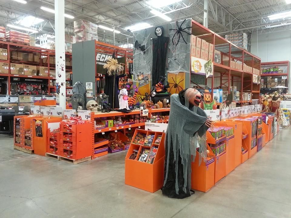 Photos womans complaint causes home depot to pull scarey halloween decorations daily headlines Halloween decorations home depot