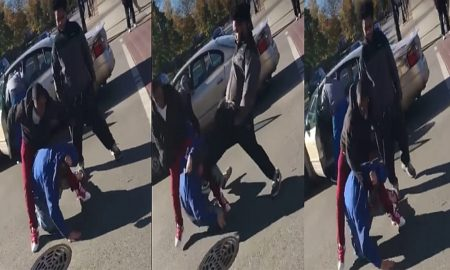 Trump supporter attacked in Chicago. (Youtube screen shot/ Viral Videos)