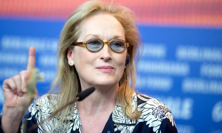 epa05154115 US actress and Jury President Meryl Streep, attends a press conference for 'International Jury' at the 66th annual Berlin International Film Festival, in Berlin, Germany, 11 February 2016. The 'Berlinale' runs from 11 to 21 February.  EPA/KAYNIERTFELD