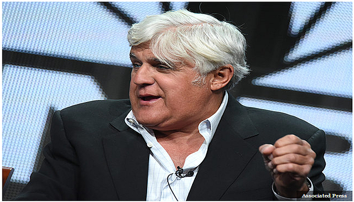 """JAY LENO: Someone Needs to """"Beat The Crap"""" Out of Donald Trump"""