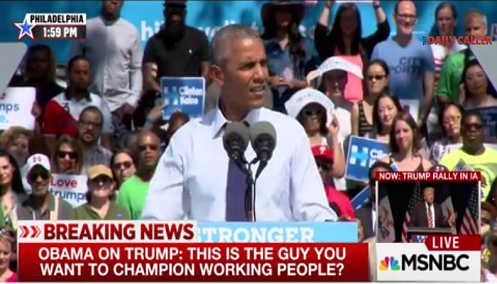 """Obama Makes Fun of The """"Workin' Folks"""" For Supporting Trump [VIDEO]"""