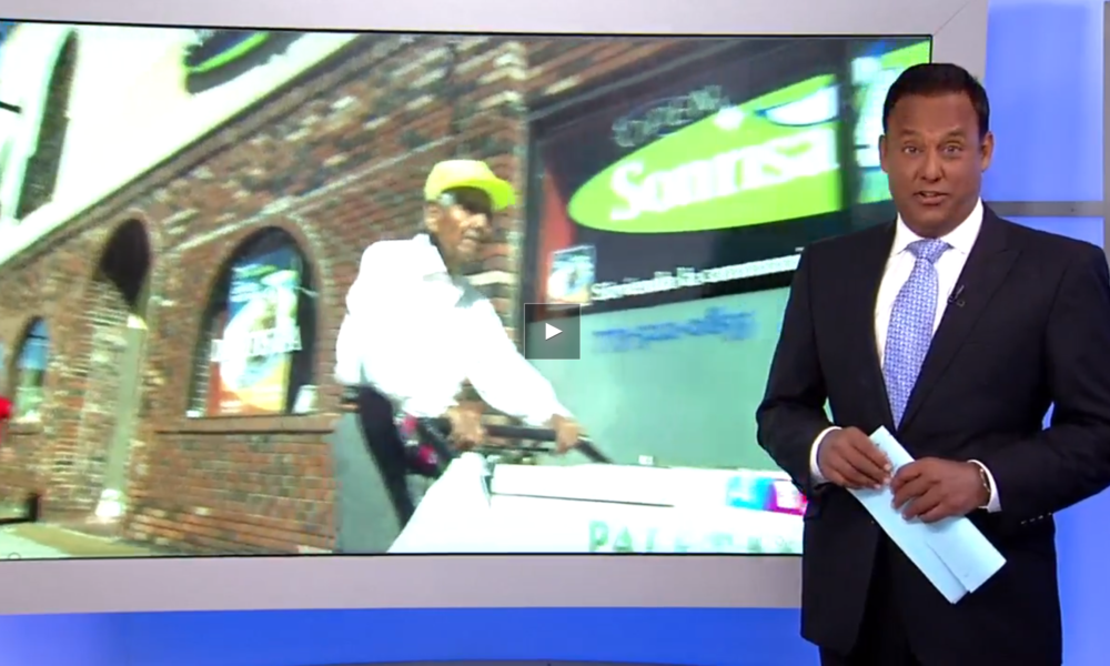 [WATCH] 89yo Street Vendor Saved By Generous Community Fundraiser