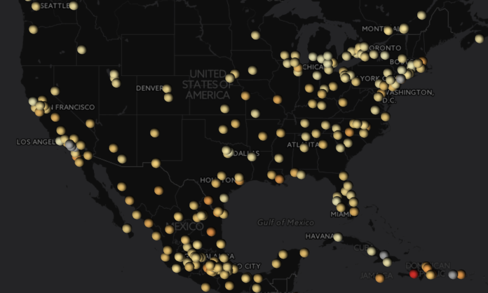 Interactive Map: How Fragile Are The Worlds Major Cities