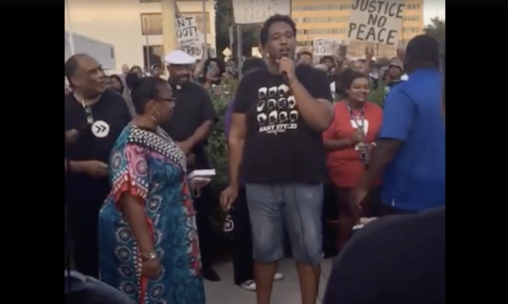 "[VIDEO] BLM Protest In Tulsa ""The Only Good White Man, Is A Dead White Man"" No one Seemed To Bat An Eye"