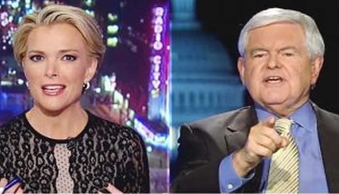 """[VIDEO] Newt Gingrich Loses It and Blows Up at Megyn Kelly: """"You Are Fascinated With Sex!"""""""