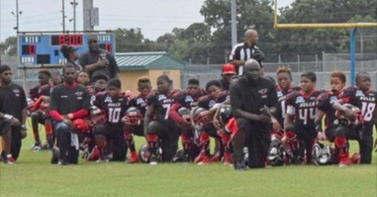 The Youth Football Team That 'Took A Knee' During National Anthem Was Just Handed Some Bad News