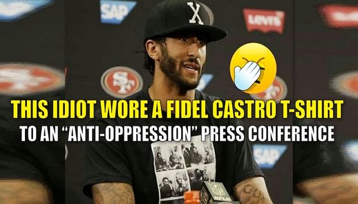 Fidel Castro Supporter Colin Kaepernick Greeted By Thunderous Boos In Miami [VIDEO]