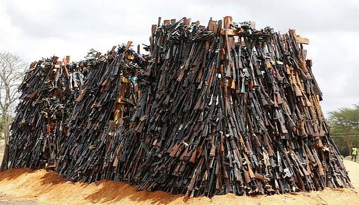 Kenya Gun Destruction 2016, A Gun-Grabbers Wet Dream
