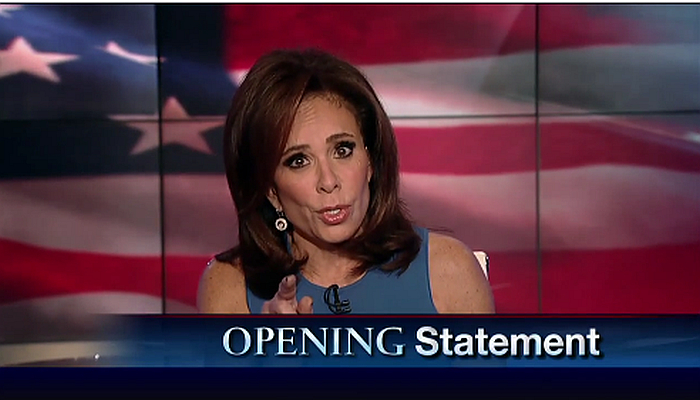 """You're All Damn Hypocrites!"": Fox's Pirro Blows Up at Liberal Hamilton Cast Over Pence Statement"