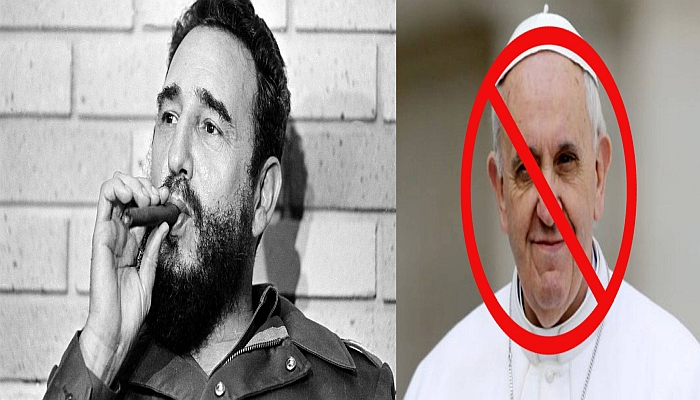 POPE FRANCIS Grieves Over The Death of Dictator FIDEL CASTRO