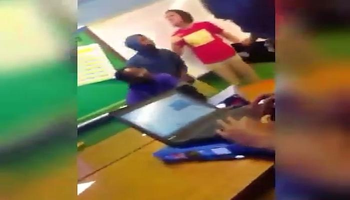 "SHOCK VIDEO: White Teacher Calls Students ""a Bunch of Broke-ASS N*GGERS Who Get Shot"""