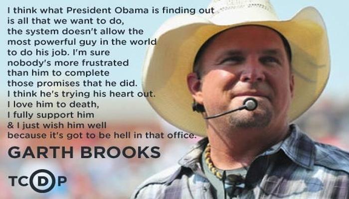 Garth Brooks DECLINES Invite to Perform At Trump's Inauguration