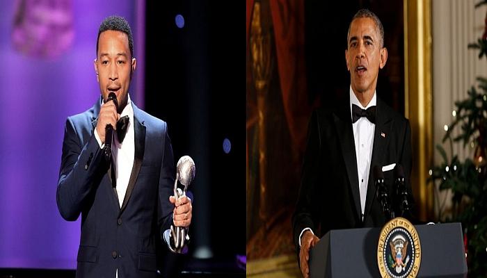 John Legend to Obama: Let More Drug Dealers Out of Prison Before You Leave!