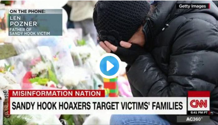 """""""IT'S OVER THE TOP"""", Father of Sandy Hook Victim Speaks Out Against """"Hoaxers"""""""