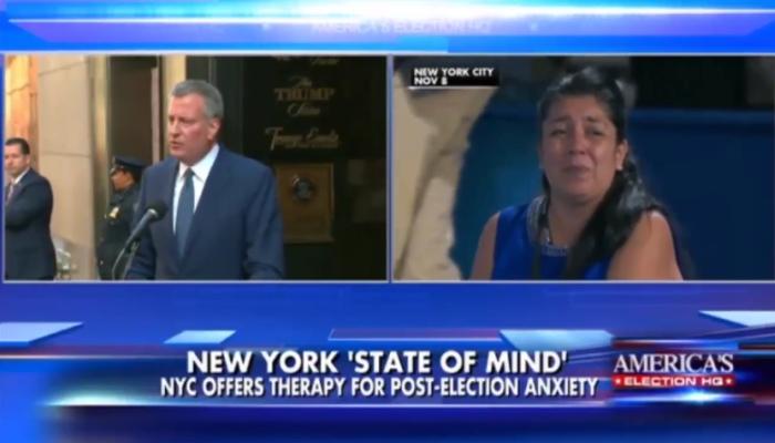 NYC Mayor Bill de Blasio Creates CITY-WIDE Safe Space For His Anti-Trump Employees