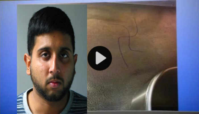 Muslim Caught and Arrested For Hate Crime Graffiti Blames It On The Jews [VIDEO]