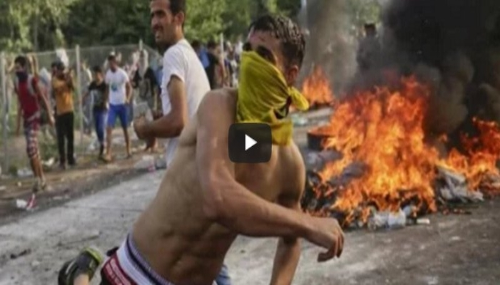 Muslim Refugees RIOT and Throw Away Food Served By Sympathetic Volunteers [VIDEO]