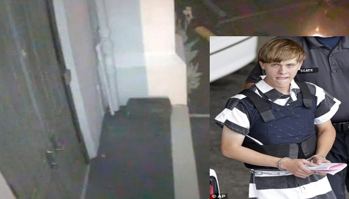 Video Shows Dylan Roof Leaving Charleston Church With Gun After Killing 9 People