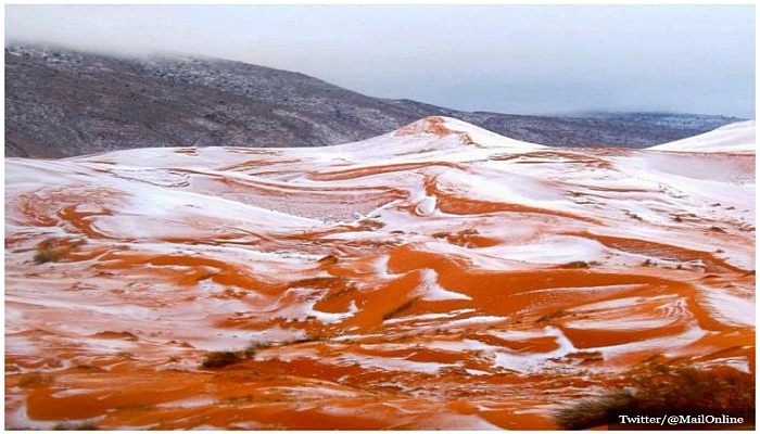 Sahara Desert Gets First Snowfall In 37 YEARS, So Much For Global Warming