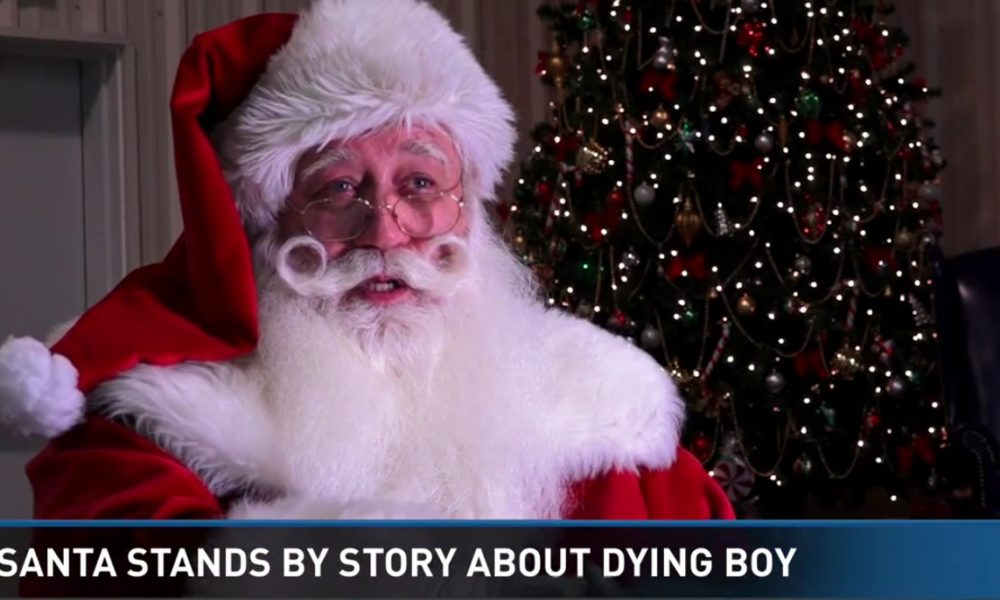 VERIFIED: Santa's Heartbreaking Hospital Visit With Dying Boy Proven to Be True [VIDEO]