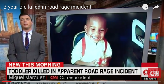 [VIDEO] Manhunt Underway: 3yr Old Toddler Shot and Killed In Road Rage Incident