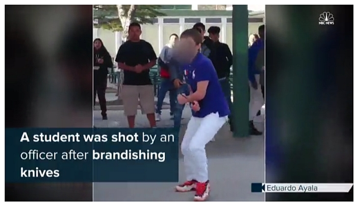 Family of Knife-Wielding Teen: 'Police Didn't Have to Shoot Him' [GRAPHIC VIDEO]