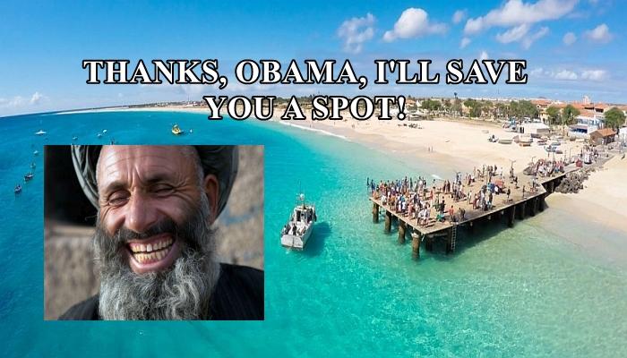 Obama BETRAYS America, Releases GITMO Terrorist and Sends Him to ISLAND PARADISE
