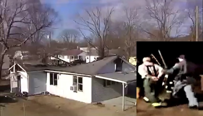 House Burns Down As Fire Chief Is Arrested For Preventing Cop From Making It Worse