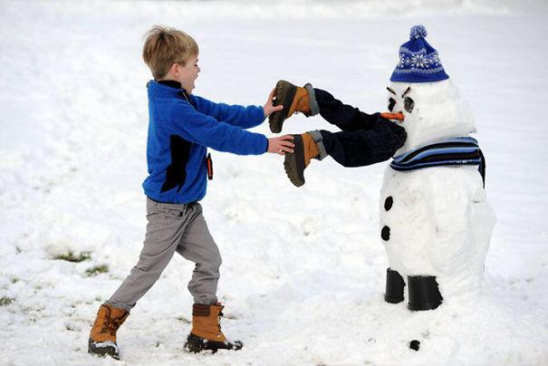 [PHOTOS] TOP 10 Most Creative Snow Men