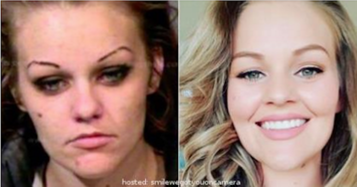 4 Years Later: Meth and heroin addict, 26, shares incredible transformation [PHOTOS]
