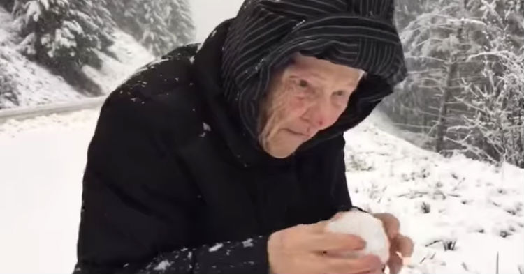 His 101-Year-Old Mom Begged Him to Stop The Car, The Video Has Gone VIRAL