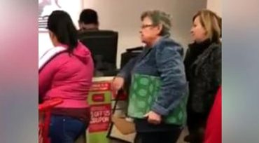 Graphic Language: Woman Goes Full Racist While Waiting in JC Penneys Line