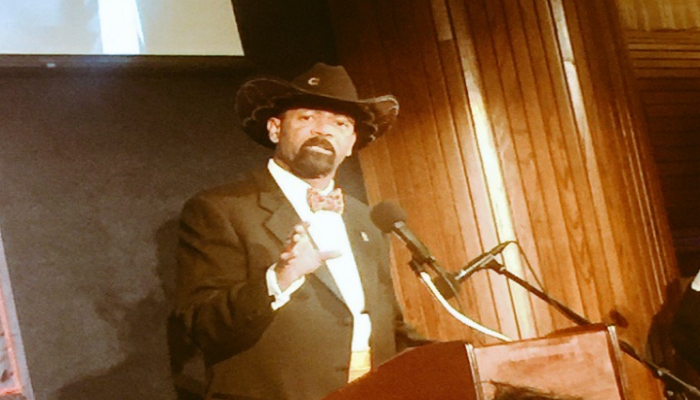 "Sheriff Clarke: I'll Only ""Be Reaching Across the Aisle"" to Grab a Democrat ""By the Throat"""