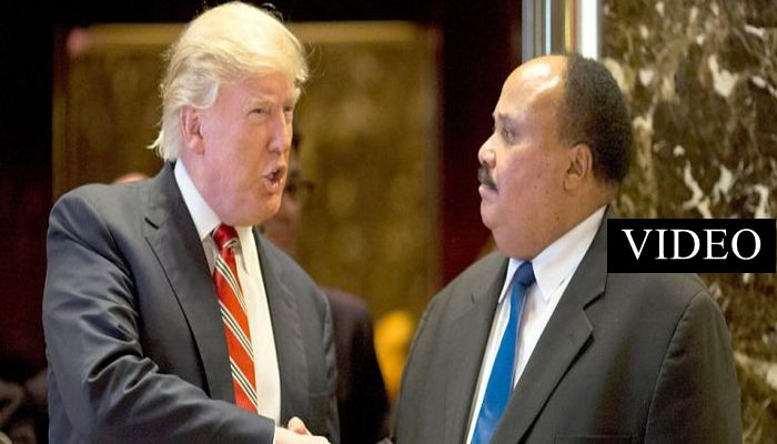 Donald Trump and Martin Luther King Jr.'s Son Just Met, Here's How It Went
