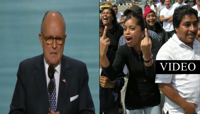 Illegals Who Commit Crimes WILL NOT Like What Giuliani Suggests Be Done With Them