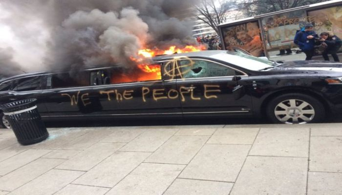 BURN IT DOWN: Anti-Trump Liberals Pillage D.C. During Inauguration [VIDEO]