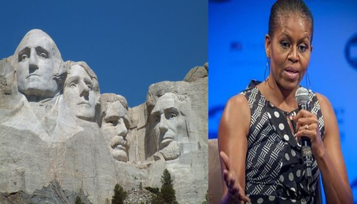 """ESPN Drools Over Michelle's Fashion Legacy: """"Carve Her Into Mt. Rushmore"""""""