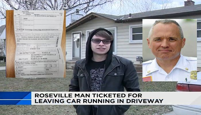 """Cop Tickets Man For Warming Up His Car, Then Police Chief Tells Him to """"Drop Dead"""" [VIDEO]"""