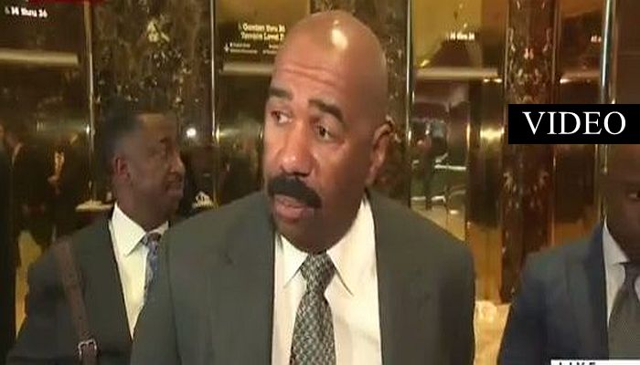 Steve Harvey Met With Trump, Here's How He'll Be Helping Trump's White House