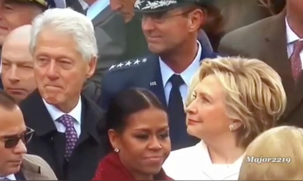 Was Slick Willy Just BUSTED Checking Out Ivanka Trump? [VIDEO]