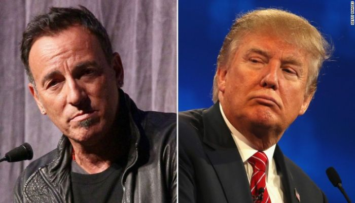 """Bruce Springsteen Calls Trump's Policies """"LIES"""", Questions His """"Competence"""" [VIDEO]"""