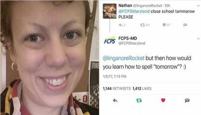 School Employee FIRED For Correcting Student's Spelling on Twitter