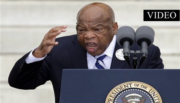 "Racist John Lewis (D-GA): ""Donald Trump Is NOT A Legitimate President"" [VIDEO]"