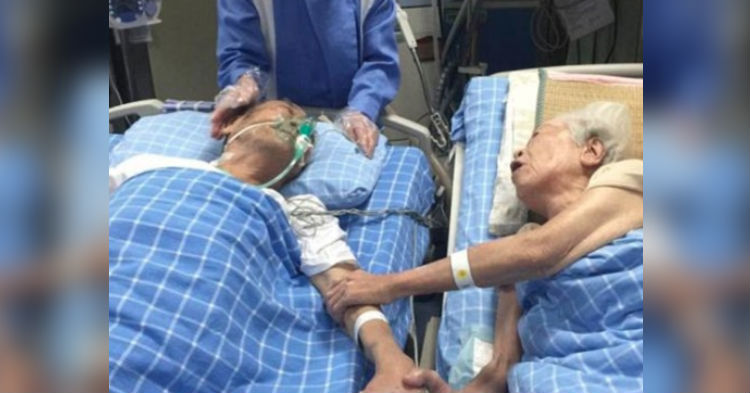 His Last Wish Is To See Wife Of 66 Years Once Last Time, Floats Off To Heaven With A Smile