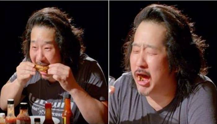 Comedian CRAPS Himself Instantly After Eating Worlds Hottest Wings [VIDEO]