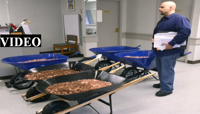Angry Man Gets Revenge On DMV, Pays Car Taxes With 300K Pennies [VIDEO]