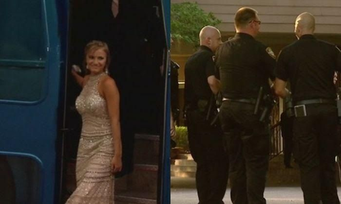 Officers Escort Fallen Colleague's Teen Daughter To Prom