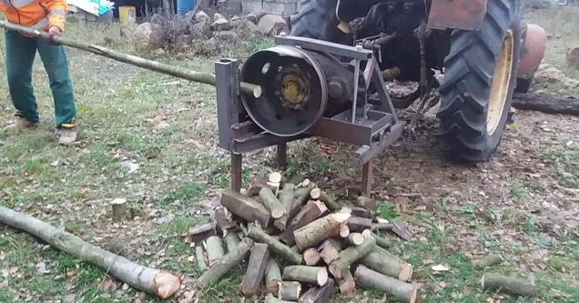 Man Creates Ultimate Backyard Wood Cutting Machine [WATCH]