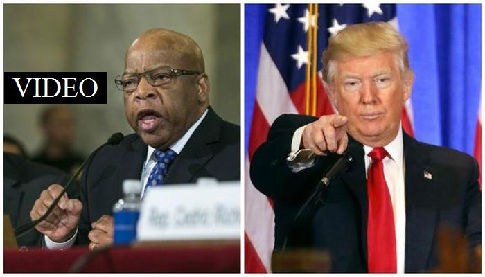 "John Lewis Said Trump Isn't A ""Legitimate"" President, Trump's Reply Was EPIC"