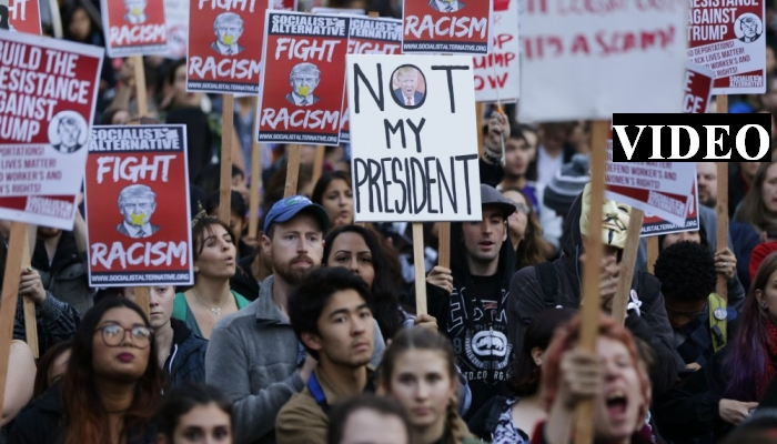 """Protesters Want to """"Instill Terror In Police"""" At Trump's Inauguration [VIDEO]"""